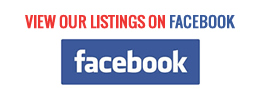 View our listings on Facebook